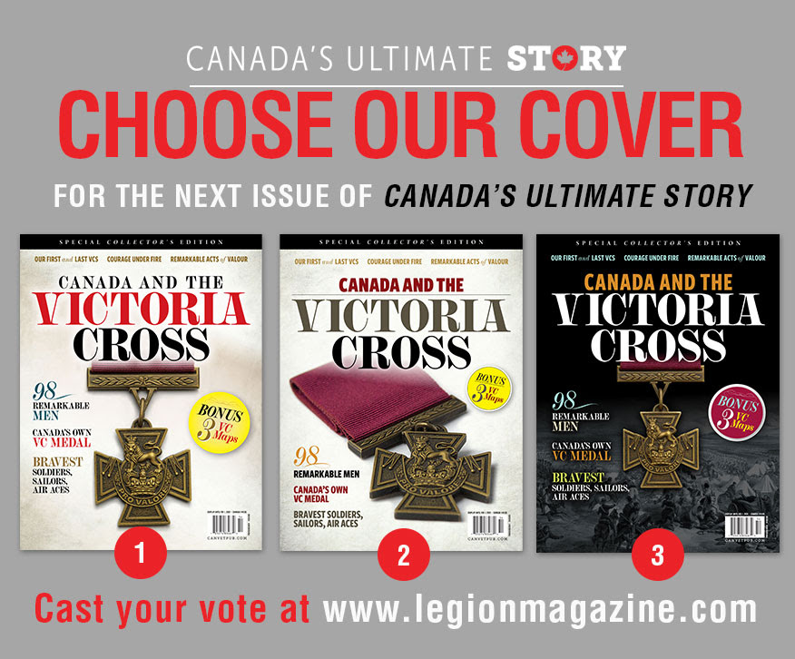 Cast your vote for the next cover of Canada's Ultimate Story!