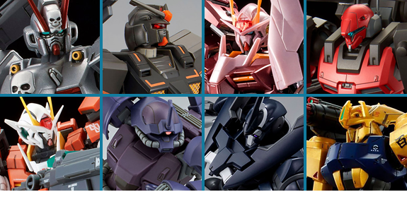 NEW GUNDAM EXCLUSIVES