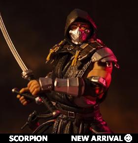 Mortal Kombat XI Scorpion (In the Shadows) Action Figure