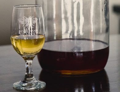 Silver Hand Meadery makes a seasonal mead fermented with a honey blend, cider and spices such as vanilla, cinnamon and cloves. (Courtesy Silver Hand Meadery)