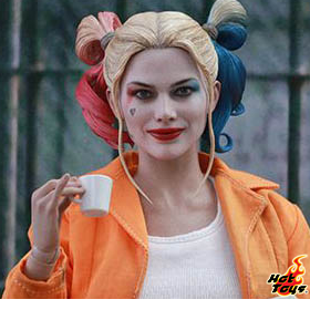 1/6 SCALE PRISON UNIFORM HARLEY QUINN FIGURE