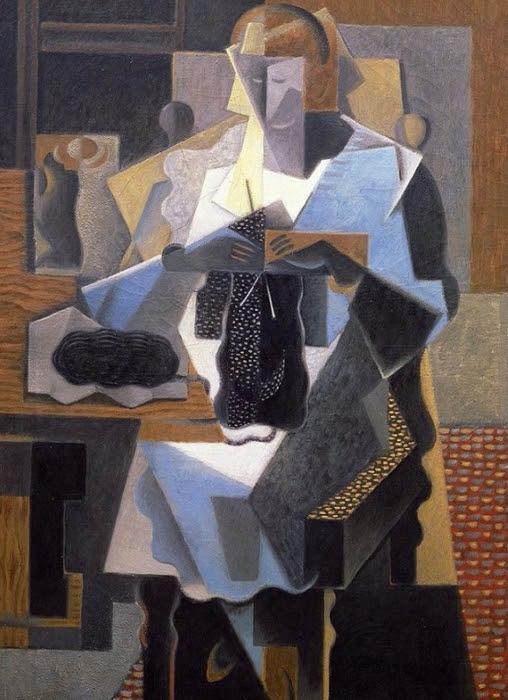 La Tricoteuse, 1919 (508x700, 378Kb)