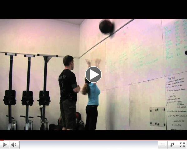 The Again Faster Mic'd Instructor - Wall Ball Shots