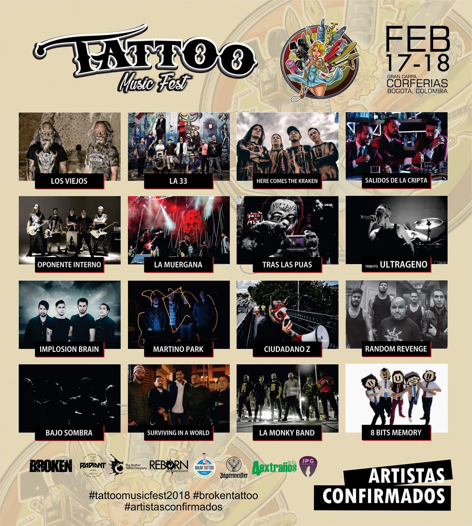 TATTOO MUSIC FEST 2018 MAS QUE UN FESTIVAL