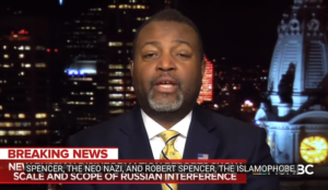 "Video: MSNBC's Malcolm Nance says ""Robert Spencer the Islamophobe"" is part of Russian disinformation campaign"