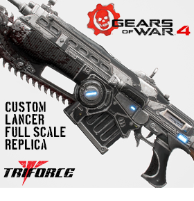 GEARS OF WAR FULL SCALE LANCER REPLICA