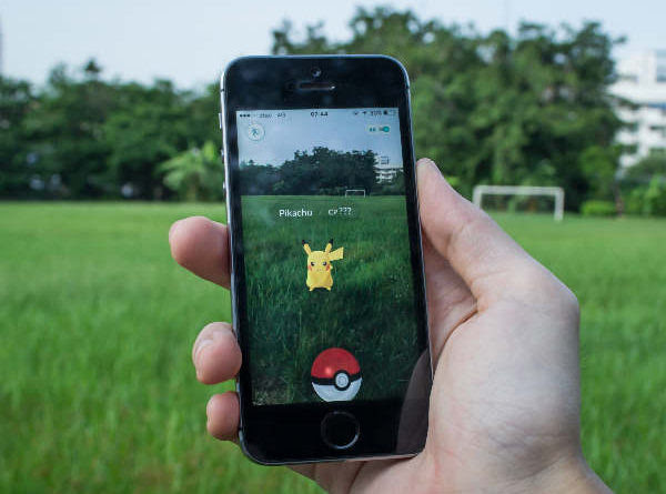pokemon on grass