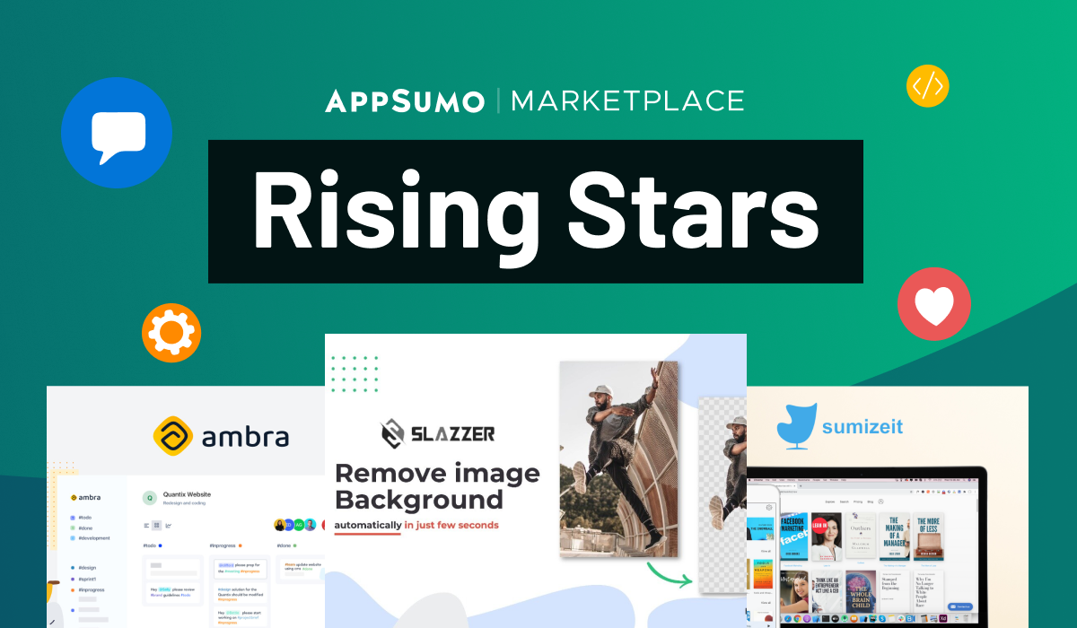 Appsumo Marketplace Rising Start Collection Deals
