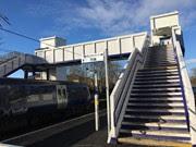Westerton AFA bridge Platfrom 1 staircase