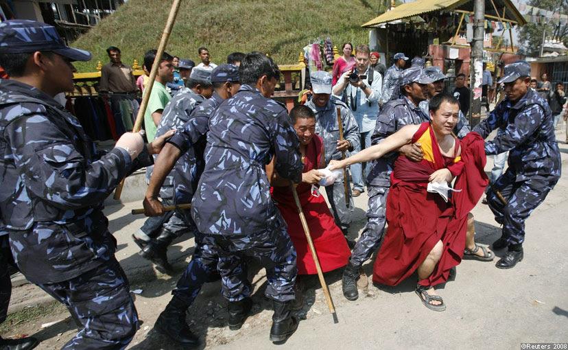 Kết quả hình ảnh cho trung quá»c phá chùa tây tạng