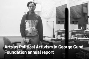 Arts as political activism in George Gund Foundation annual report