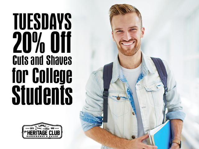 20% Off for College Students