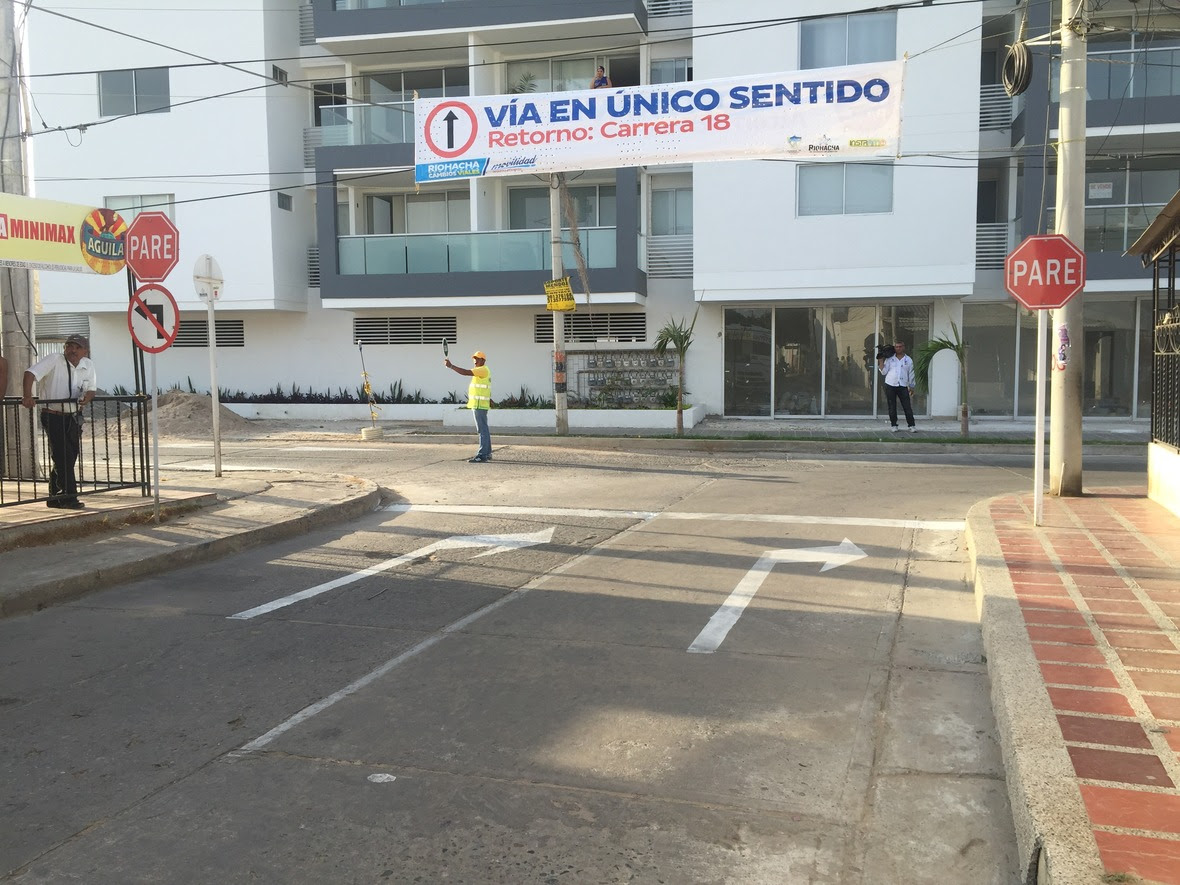 FOTO 6 MEJORANDO LA MOVILIDAD  CAMBIO DE VIAS