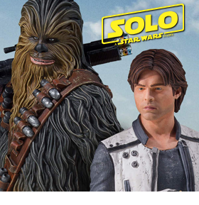 SOLO: A STAR WARS STORY MINI BUSTS