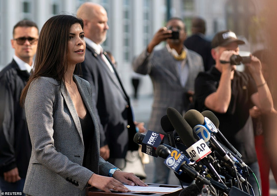 Jacquelyn Kasulis, the interim U.S. Attorney for the Eastern District of New York who prosecuted the case, said the verdict 'forever brands R. Kelly as a predator, who used his fame and fortune to prey on the young, the vulnerable and the voiceless for his own sexual gratification'