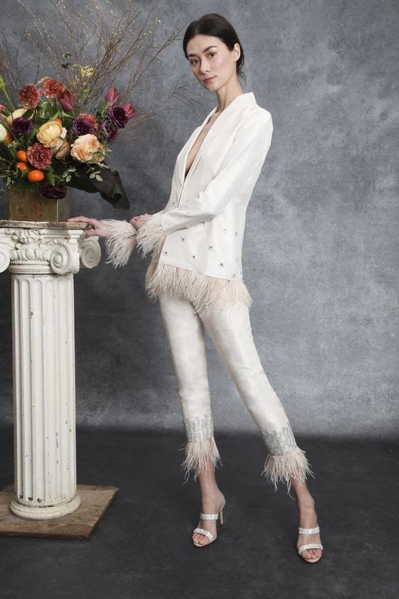 Elizabeth Slim Leg Trouser – sahroo
