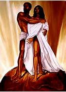 black love art | black romantic art | art for women - 2