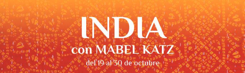 India con Mabel Katz