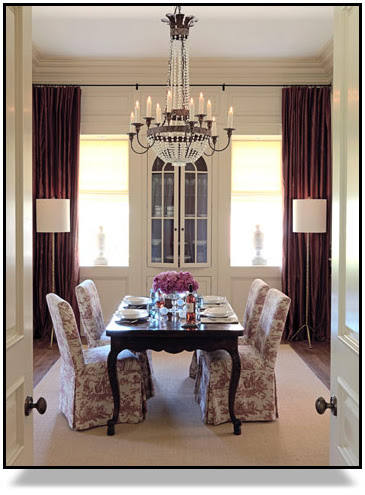 Ty Larkins Dining Room for House Beautiful