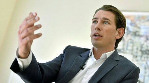 austrian chancellor sebastian kurz  the world s youngest leader vows to eradicate radical islam from austria