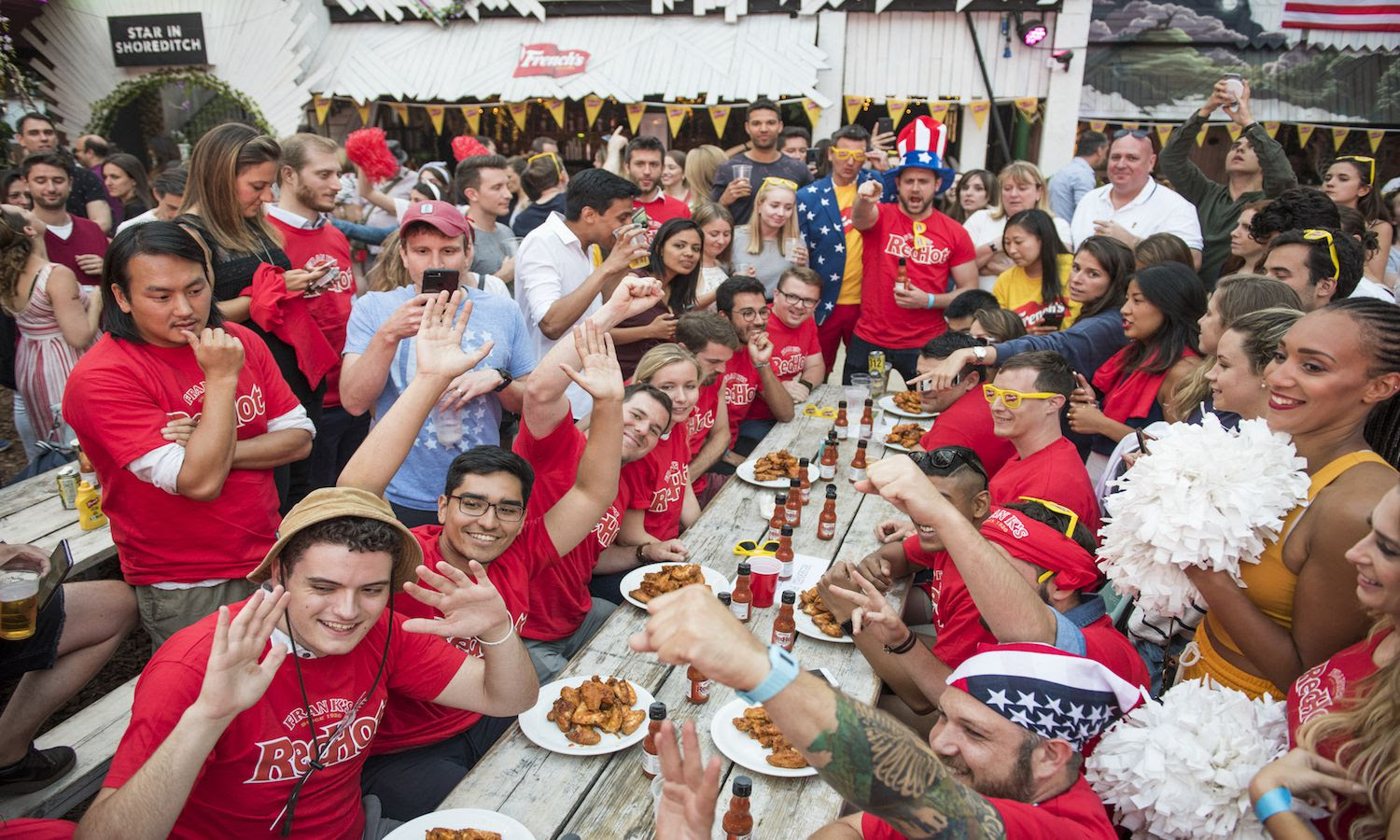 Frank's and French's July 4 party at Dinerama