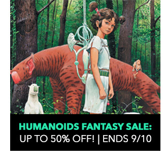 Humanoids Fantasy Sale: up to 50% off! Sale ends 9/10.
