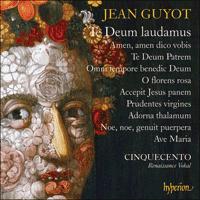 CDA68180 - Guyot: Te Deum laudamus & other sacred music