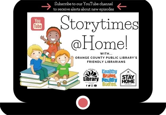 Storytimes at home