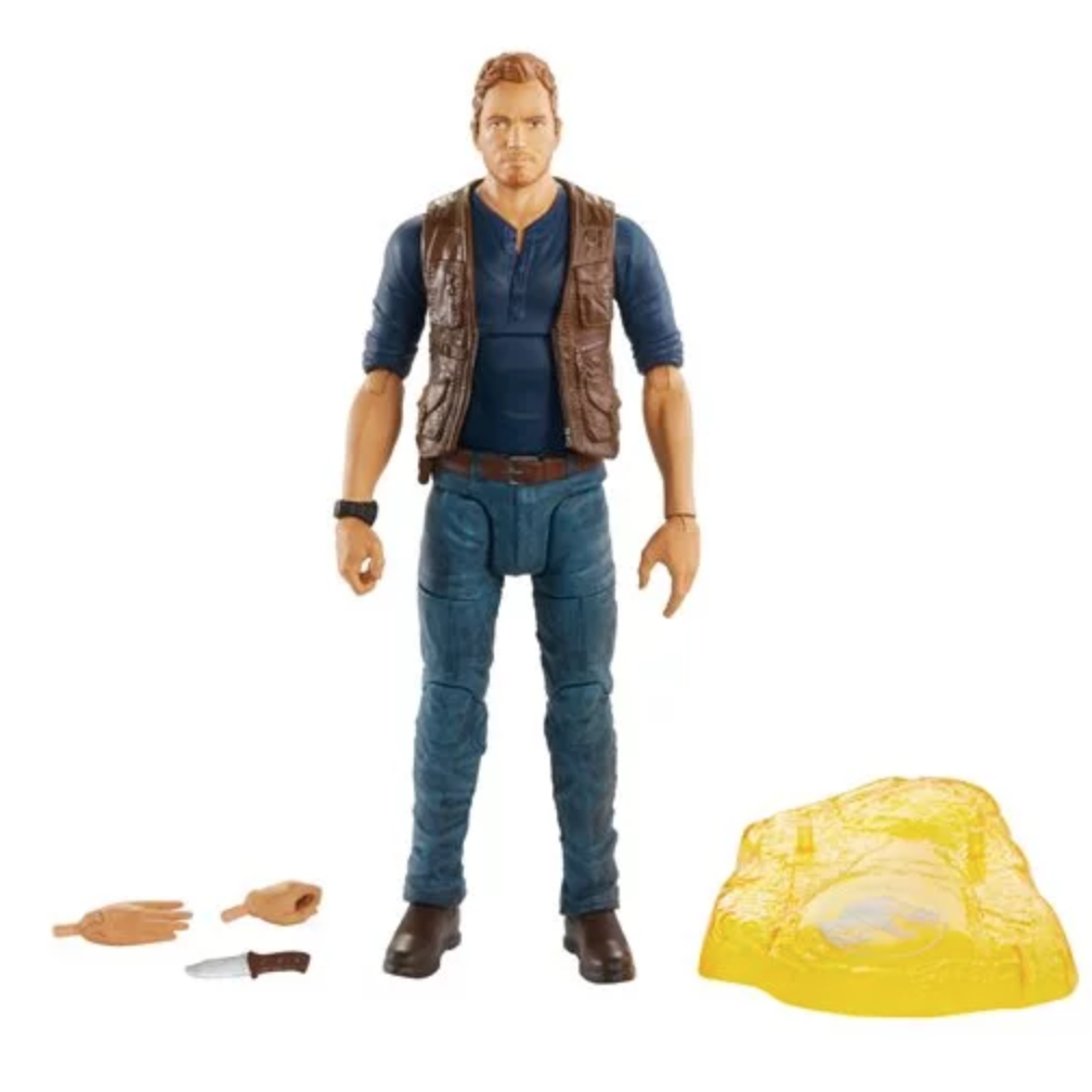 Image of Jurassic World Owen Grady 6-Inch Scale Amber Collection Action Figure