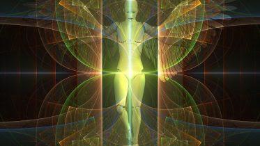 God Angel Heaven Concept