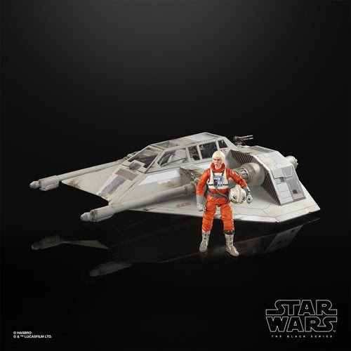Image of Star Wars The Black Series Empire Strikes Back 40th Anniversary 6-Inch Scale Snowspeeder Deluxe Vehicle