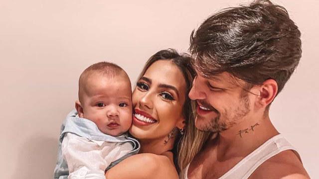Gabi Brandt está grávida do segundo filho com Saulo Pôncio