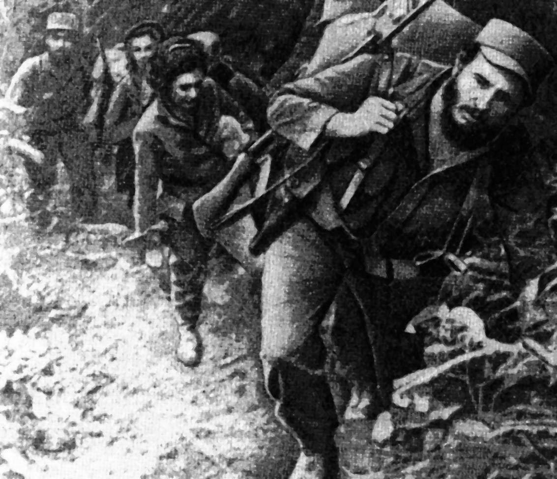 Fidel Castro Et Ses Partisans Dans La Sierra Maestra picture