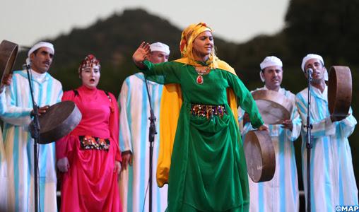 Ain Leuh : Ouverture du Festival national d'Ahidous