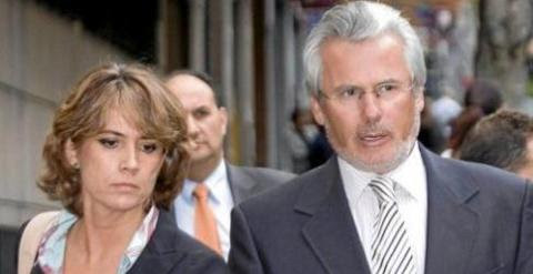 La fiscal Dolores Delgado y el magistrado Baltasar Garzón. /EFE