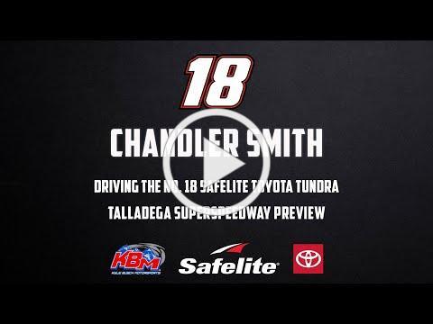 Chandler Smith   Talladega Superspeedway Preview