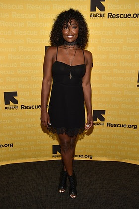 Patina Miller attends the 2016 International Rescue Committee GenR Summer Party