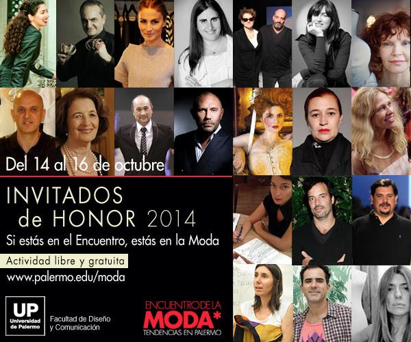 Encuentro de la Moda 2014 | Invitados de Honor