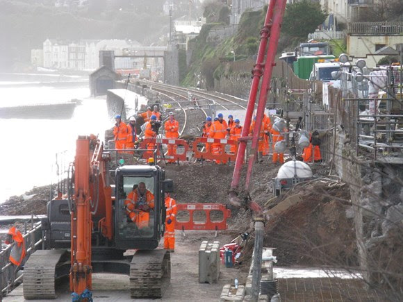 Dawlish drop-in session provides insight into plans to protect vital railway artery to the South West