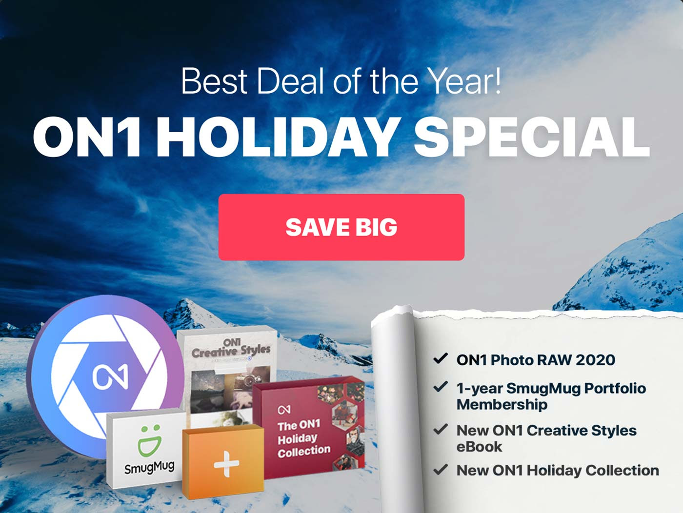 ON1 Most Popular Holiday Special Bundle