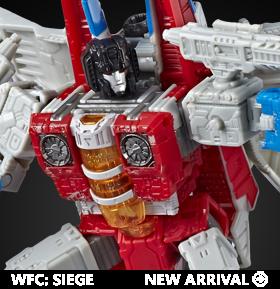 Transformers War for Cybertron: Siege Voyager Starscream