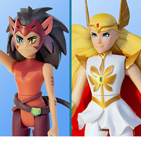 SHE-RA AND THE PRINCESSES OF POWER DELUXE SET OF 2