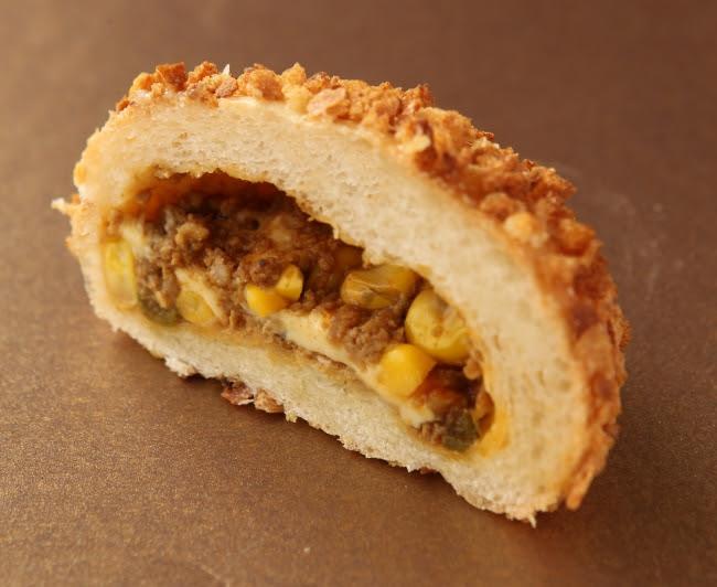 ル パン ドゥ ジョエル・ロブション「コーンとチーズのカレーパン」