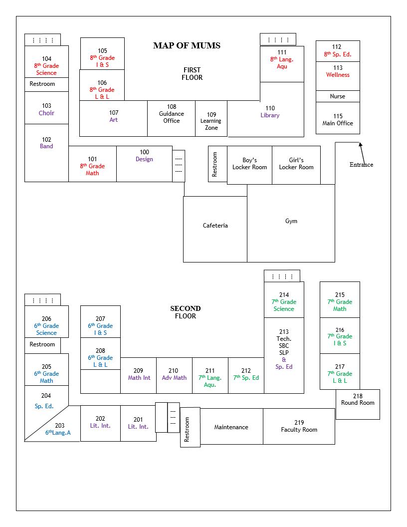 MUMS Floor Plan