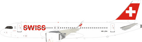 JF-A320-026   JFox Models 1:200   Airbus A320-200 SWISS HB-JDZ (with stand)   is due: April 2020