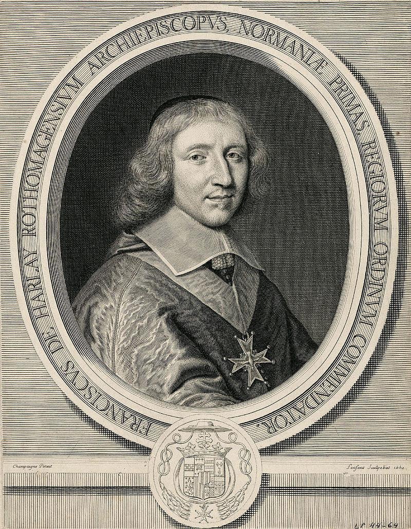 Франсуа де де харлай Champvalon Lenfant 1664.jpg