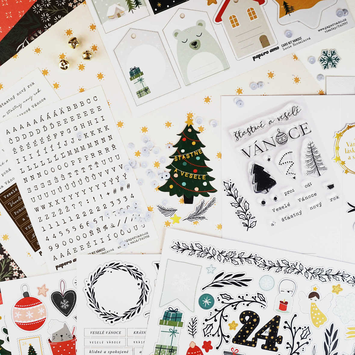 card kit vanoce 2018 papero amo