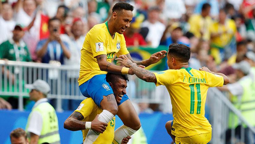 Brasil se mete a cuartos tras una contundente victoria sobre México
