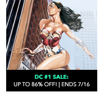 DC #1 Sale: up to 86% off! Sale ends 7/16.