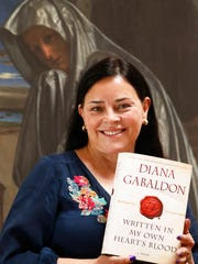 Diana Gabaldon at her Paradise Valley home on May 14,